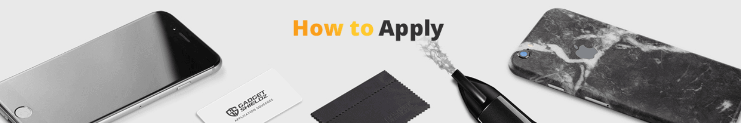 How to apply skins