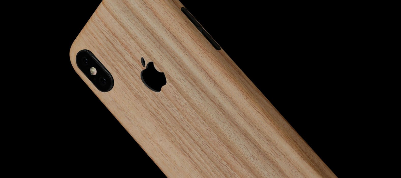 iPhone X Skins, Wraps & decals, Bamboo Wood