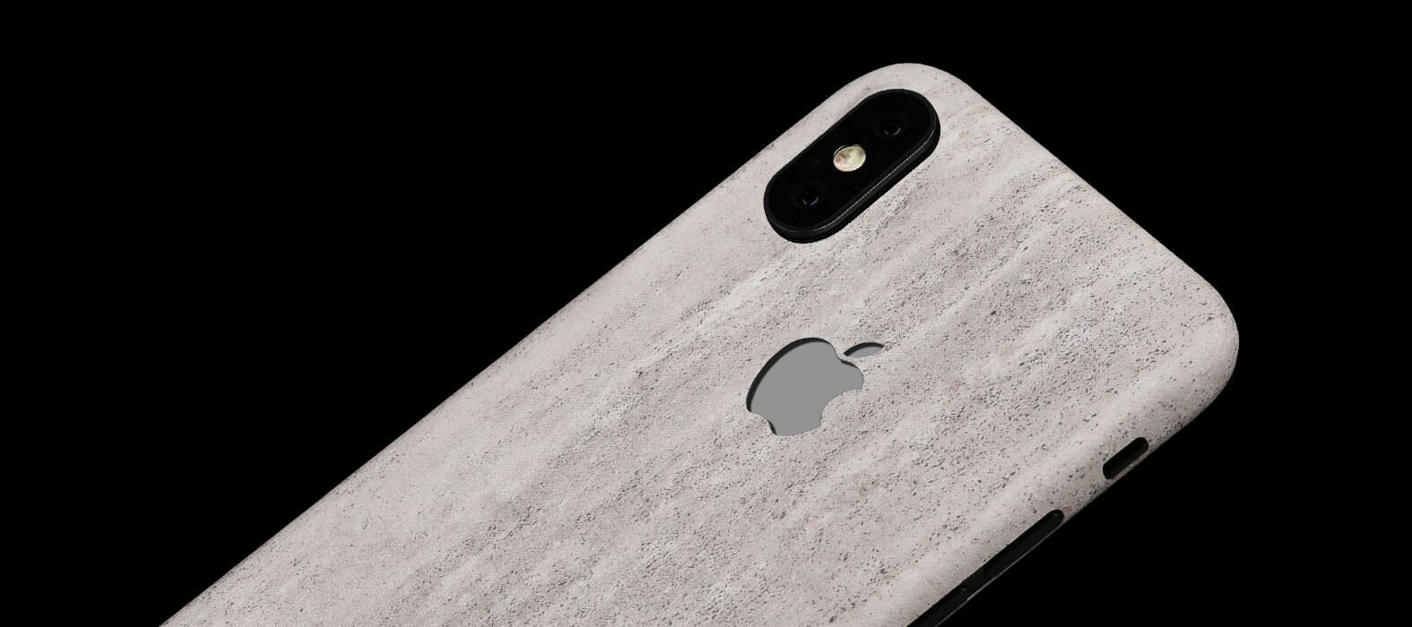 Concrete iPhone X Skins, Wraps & decals
