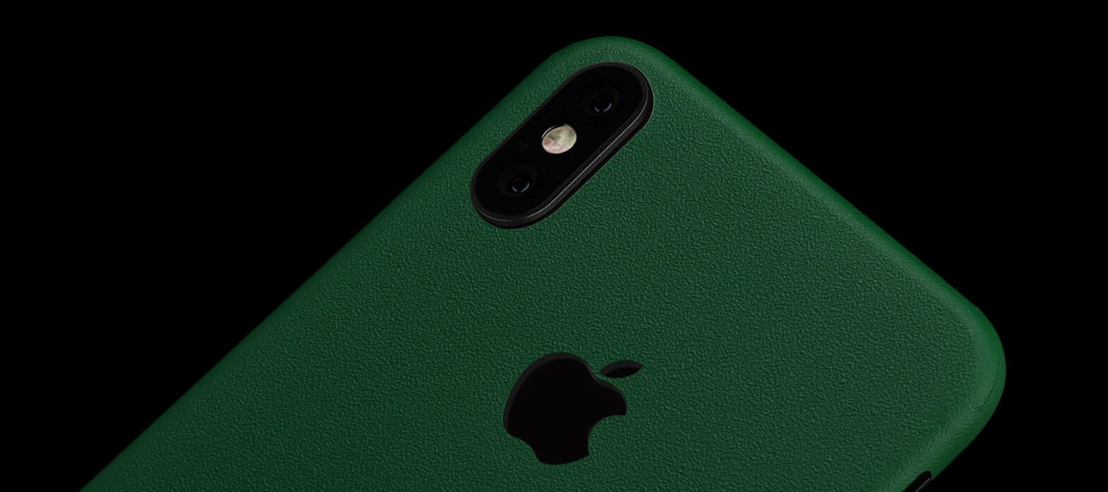 iPhone X Skins, Wraps & decals - Sandstone Green