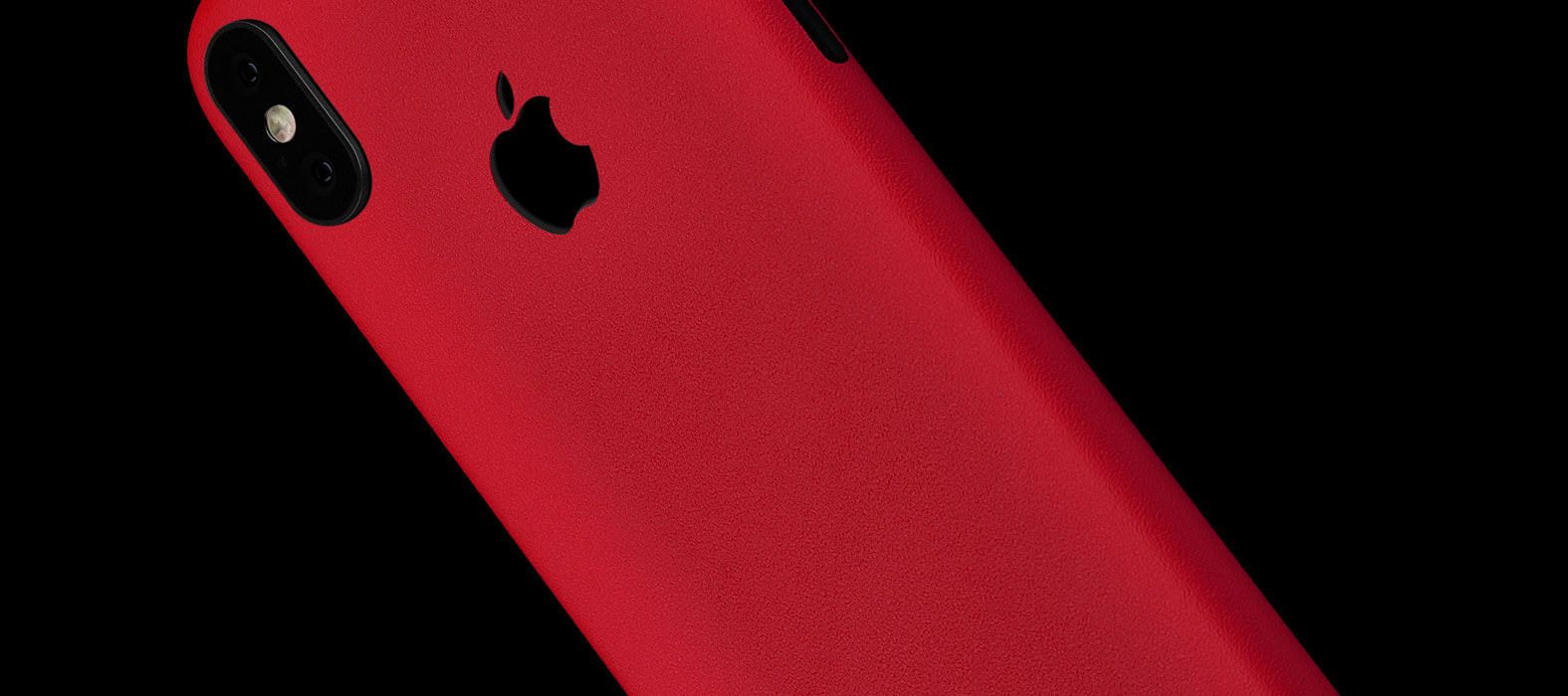 Sandstone Red iPhone X Skins, Wraps & decals