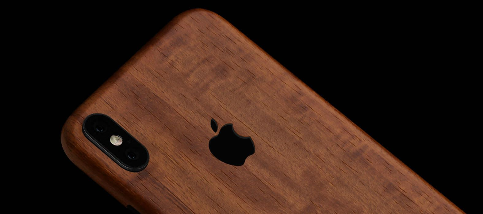 iPhone X Skins, Wraps & decals Teak Wood