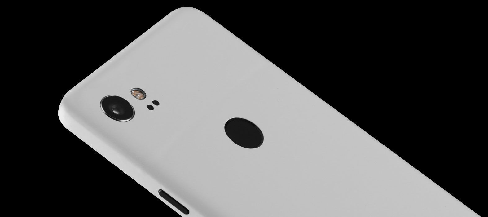 Pixel 2 XL Skins Matte White Wraps & Decals