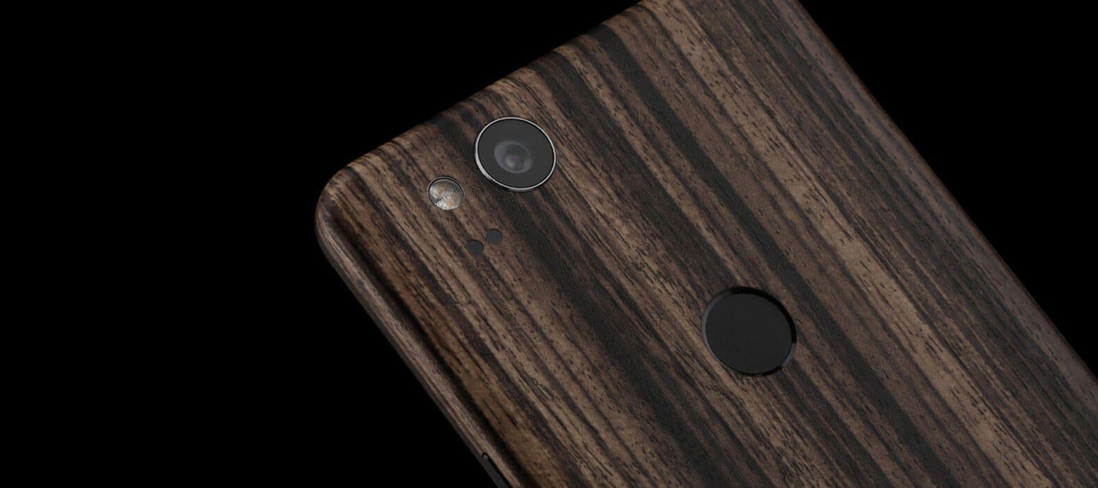 Pixel 2 Wraps, Skins, Decals - Zebra Wood