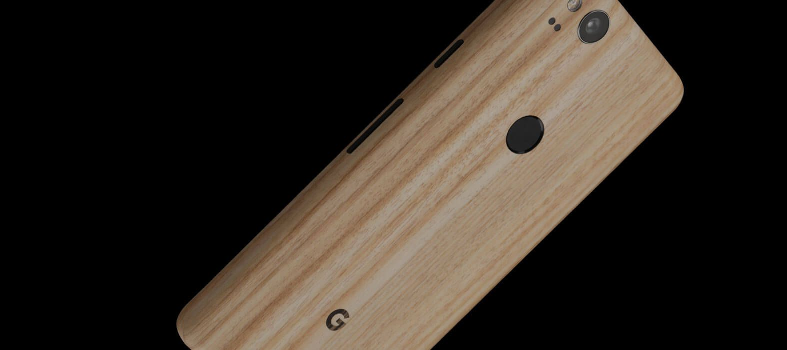 Pixel 2 Wraps, Skins, Decals, Bamboo wood