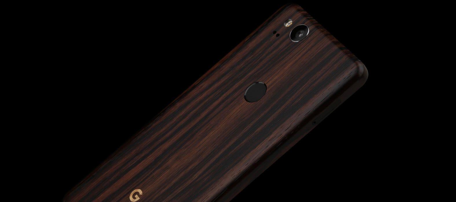 Pixel 2 Wraps, Skins, Decals - Ebony wood