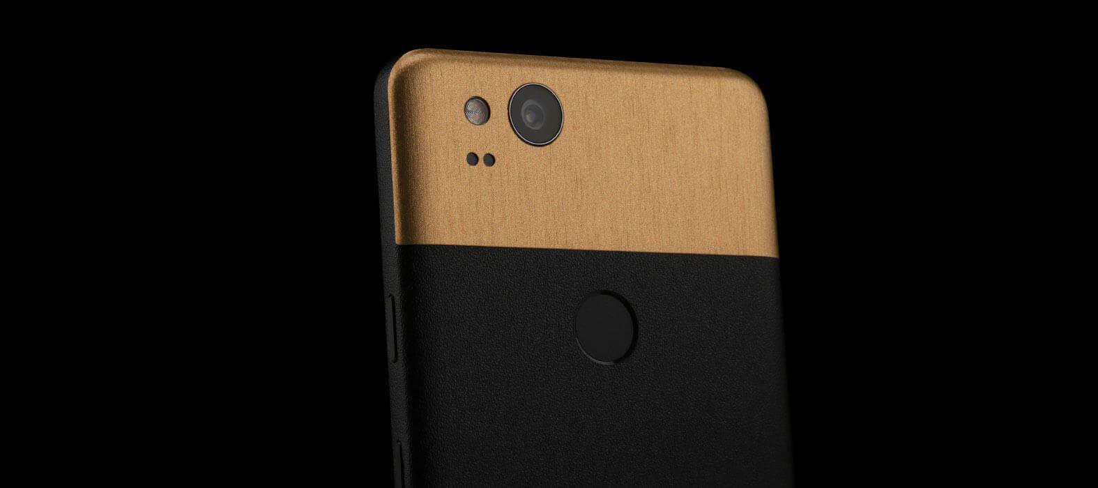 Pixel 2 Wraps, Skins, Decals - Sanstone Black