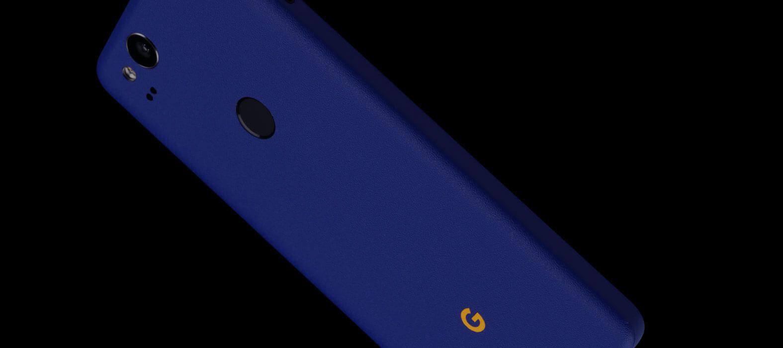Pixel 2 Wraps, Skins, Decals - Sandstone Blue