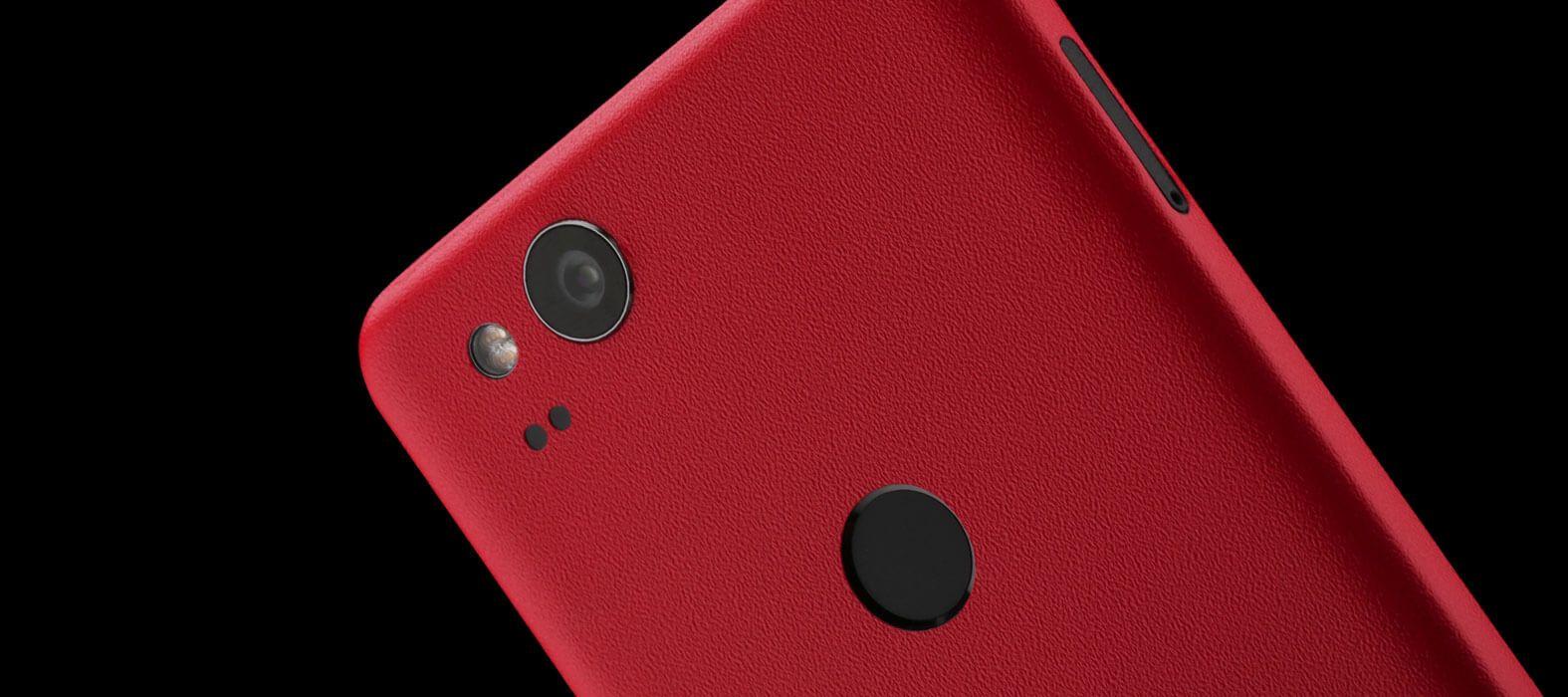 Pixel 2 Wraps, Skins, Decals - Sandstone Red