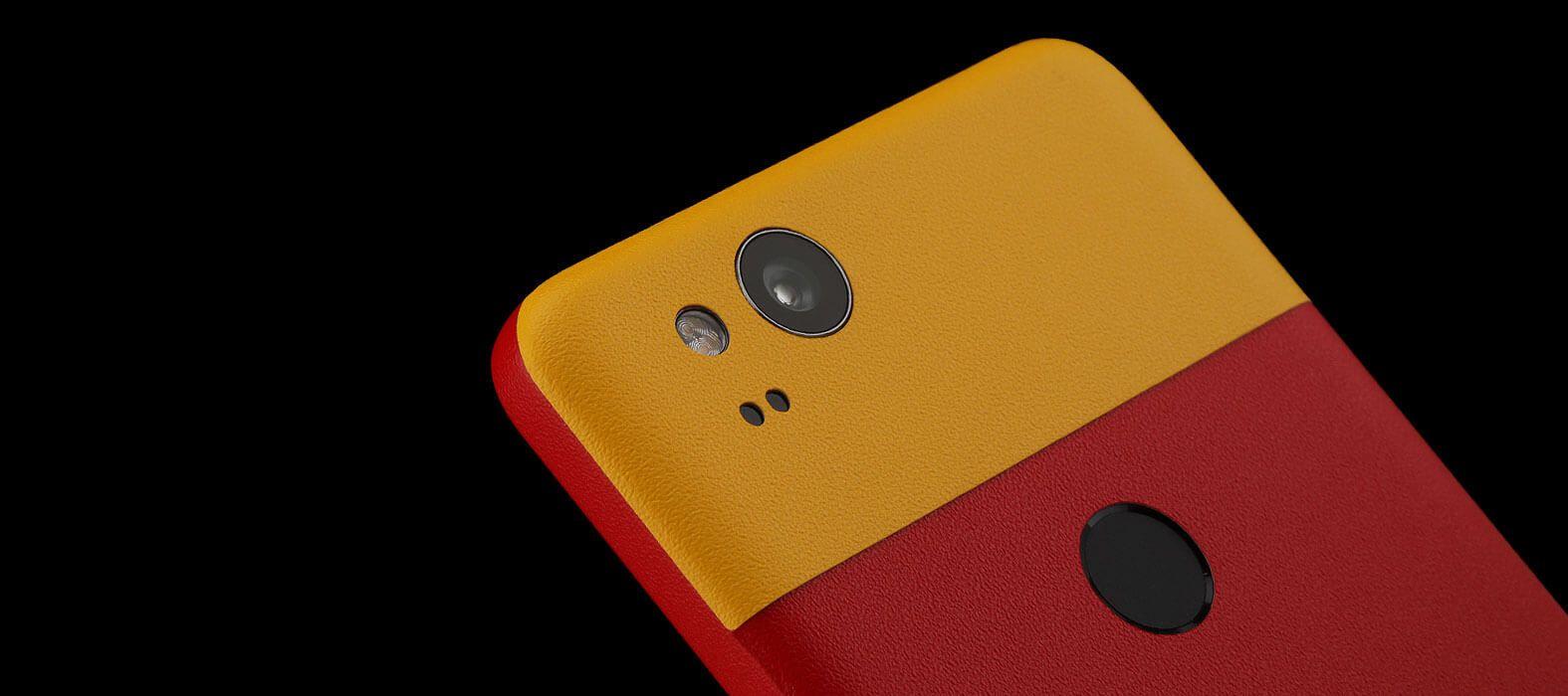 Pixel 2 Wraps, Skins, Decals - Sandstone Split