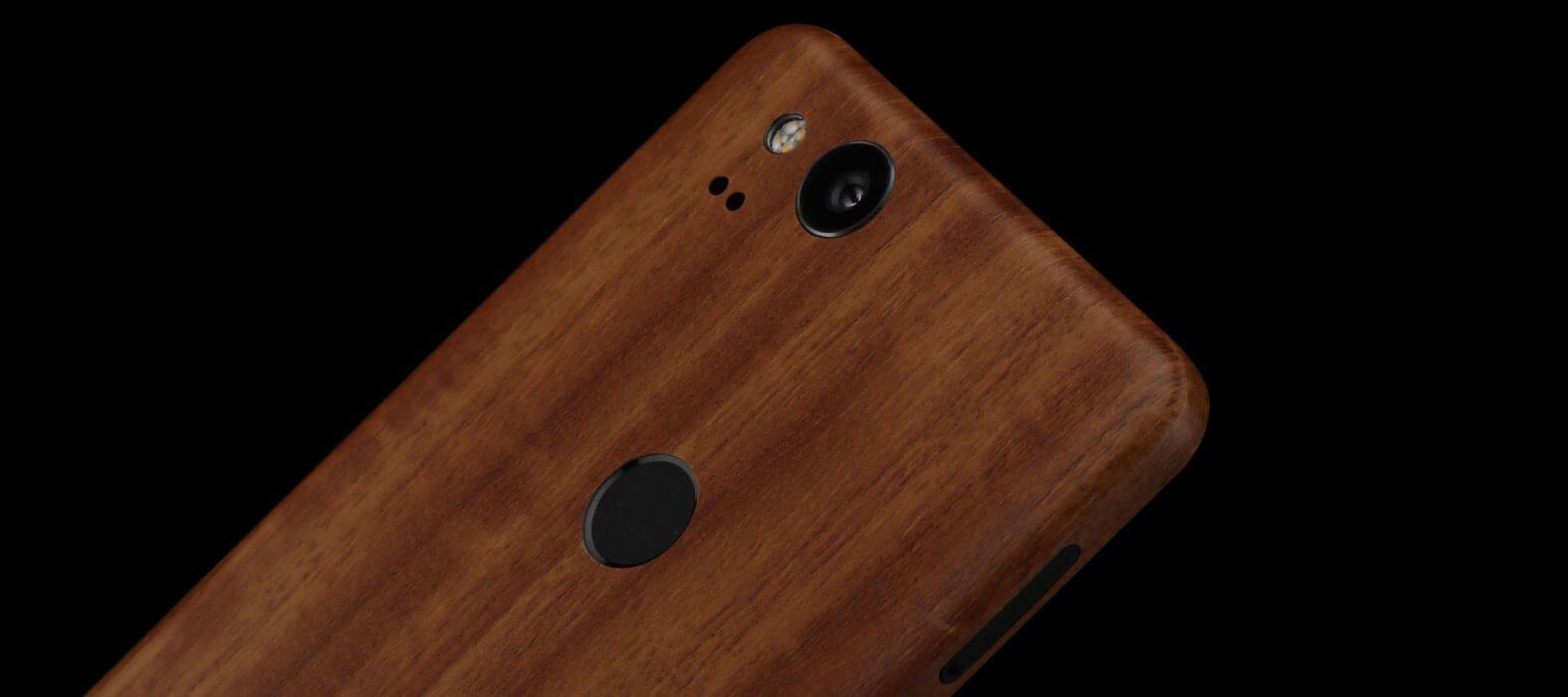 Pixel 2 Wraps, Skins, Decals - Teak wood