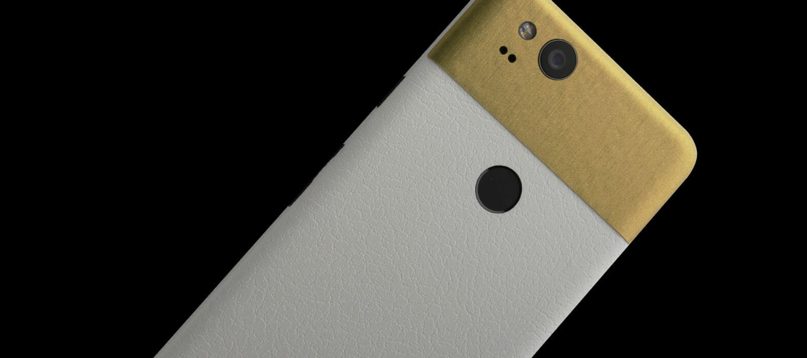 Pixel 2 Wraps, Skins, Decals - White Leather