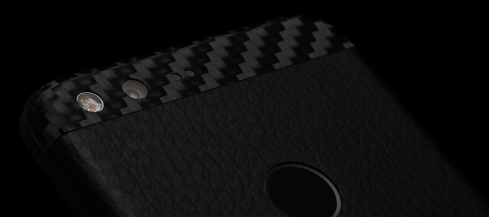 Pixel XL Wraps, Skins & Decals - Black Leather