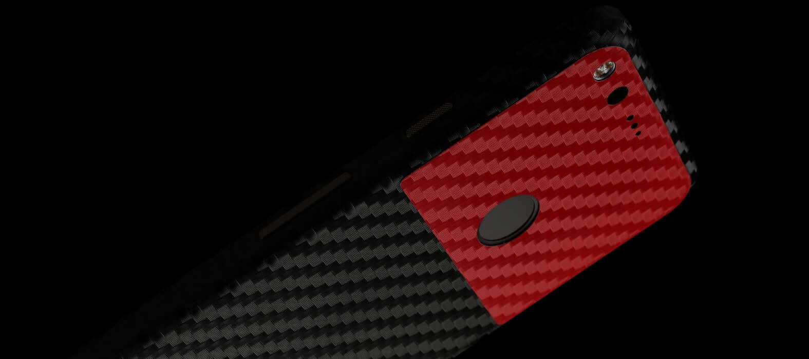 Pixel XL Wraps, Skins & Decals - Black carbon fiber
