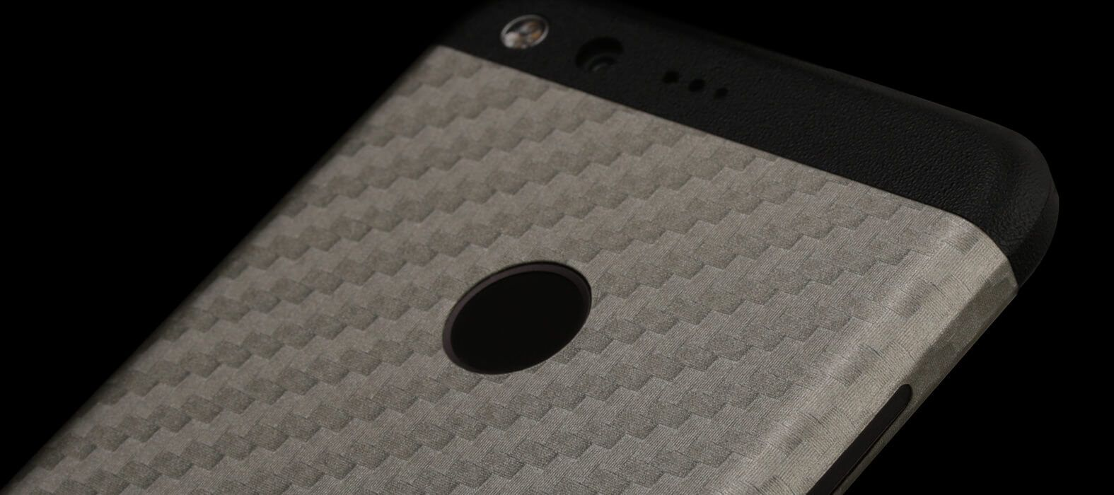 Pixel XL Wraps, Skins & Decals - Pewter Carbon