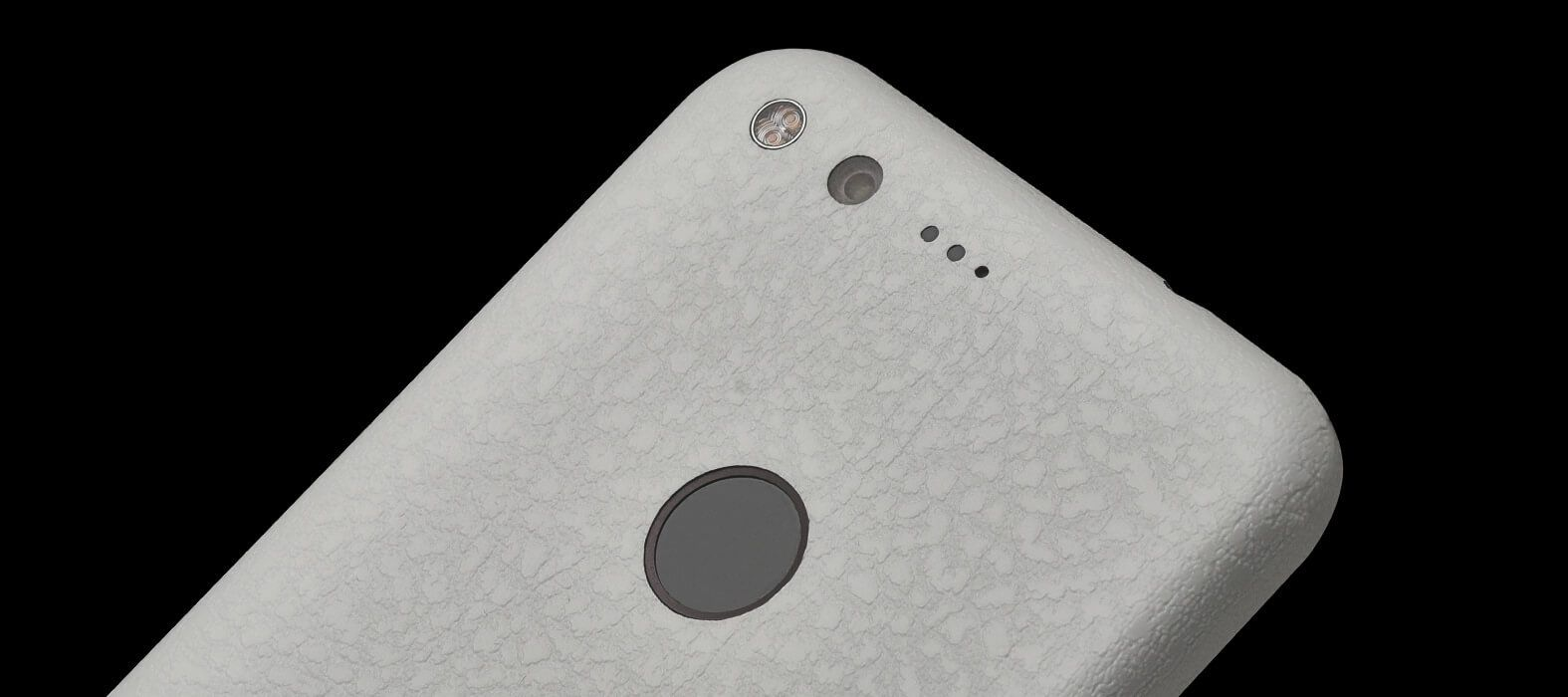 Pixel XL Wraps, Skins & Decals - White Leather