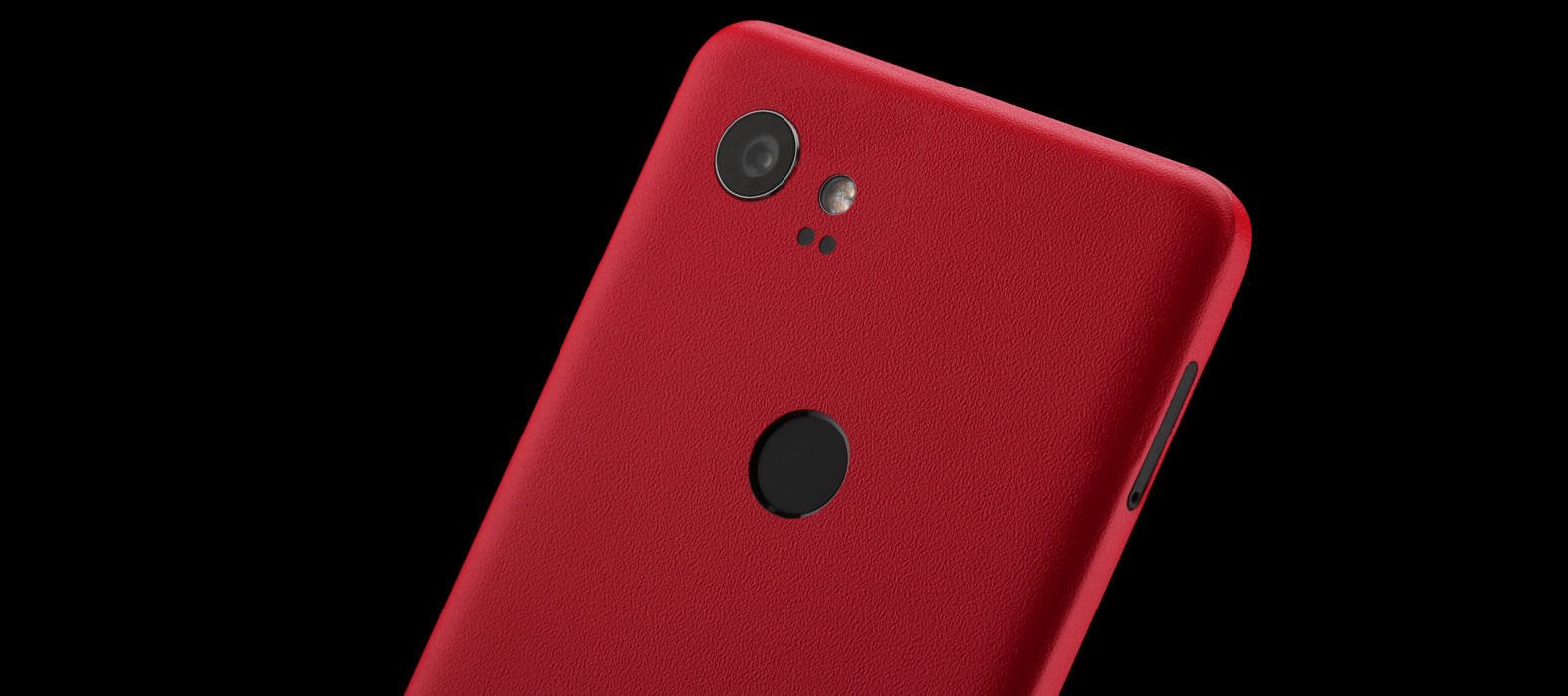 Pixel 2 XL Skins Sandstone Red Wraps & Decals
