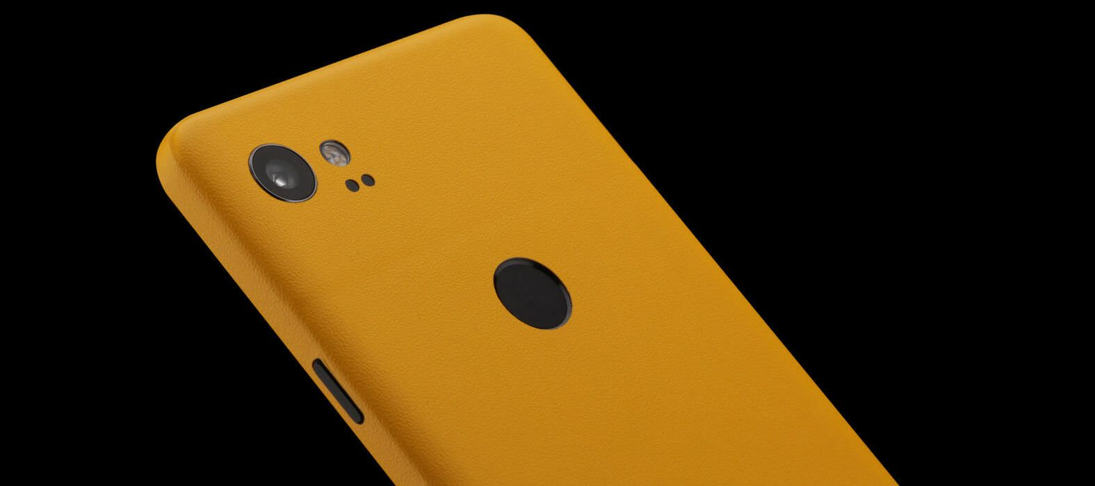 Pixel 2 XL Skins Sandstone Yellow Wraps & Decals