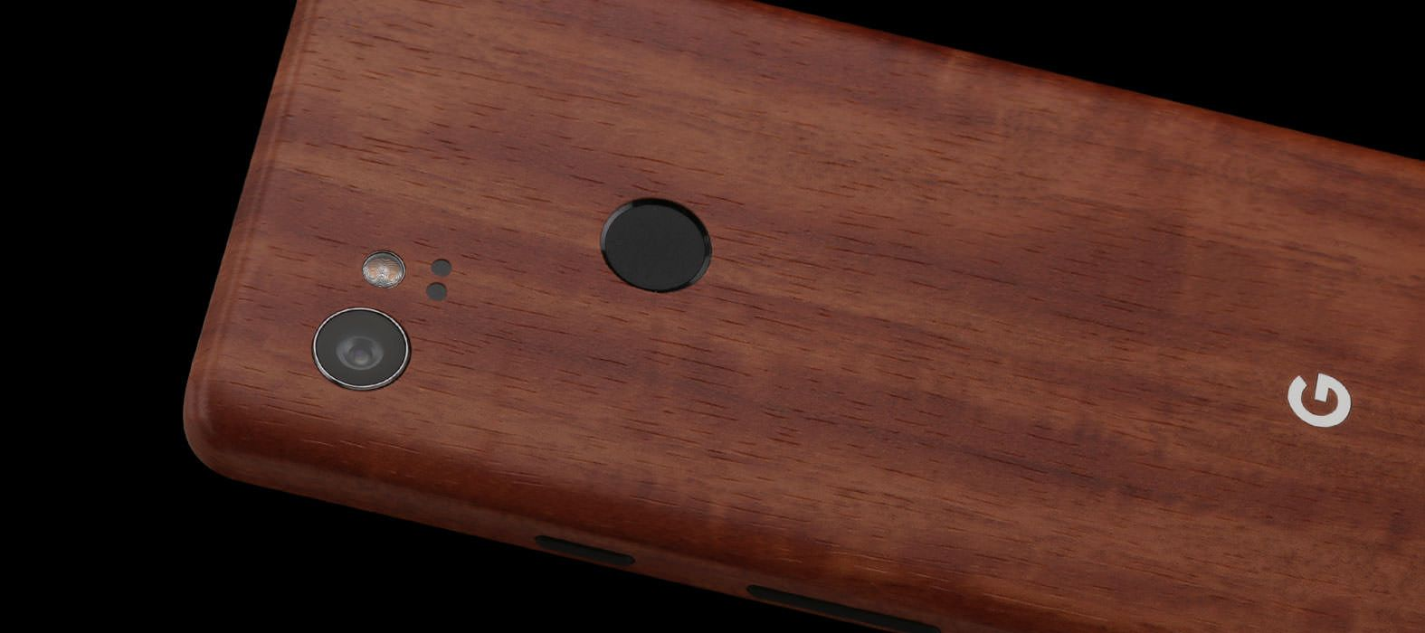Pixel 2 XL Skins Teak Wood Wraps & Decals