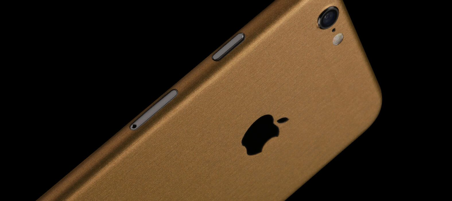 iPhone 6 Plus Skins, Wraps & decals - Brushed Gold