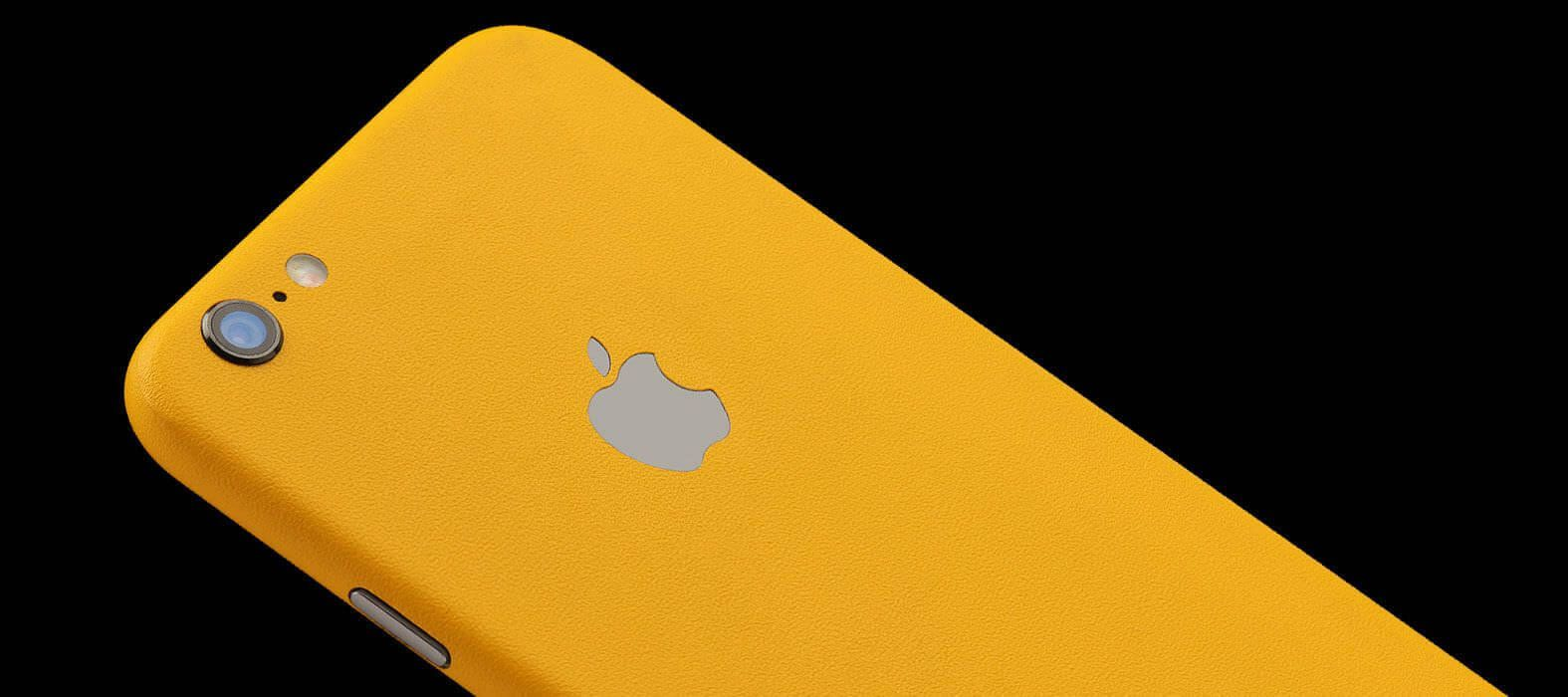 iPhone 6 Plus Skins, Wraps & decals - Sandstone yellow