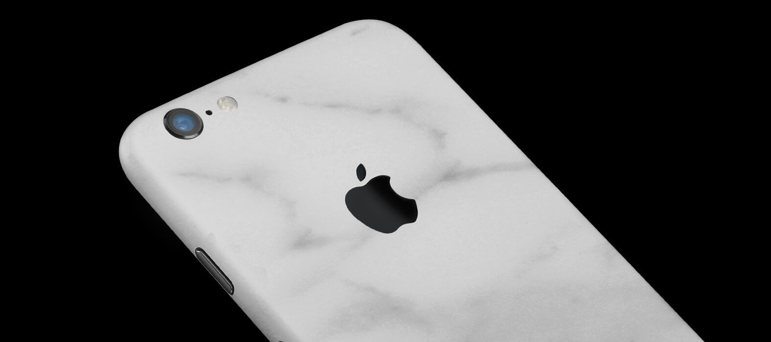 iPhone 6 Plus Skins, Wraps & decals - White marble