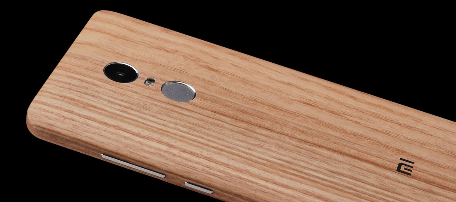 Bamboo Wood Redmi Note 4 Wraps & Skins