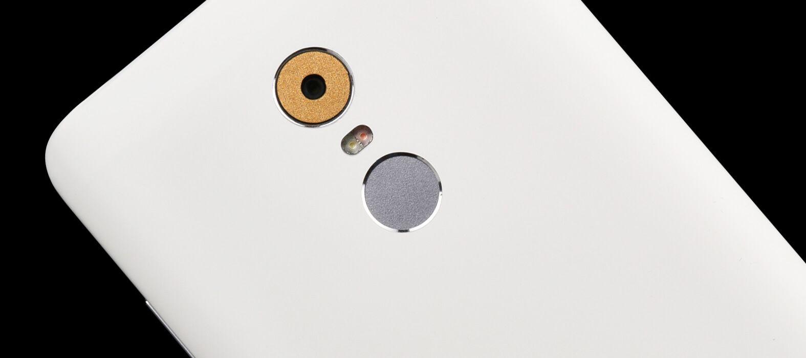 Matte white Redmi Note 4 Wraps & Skins