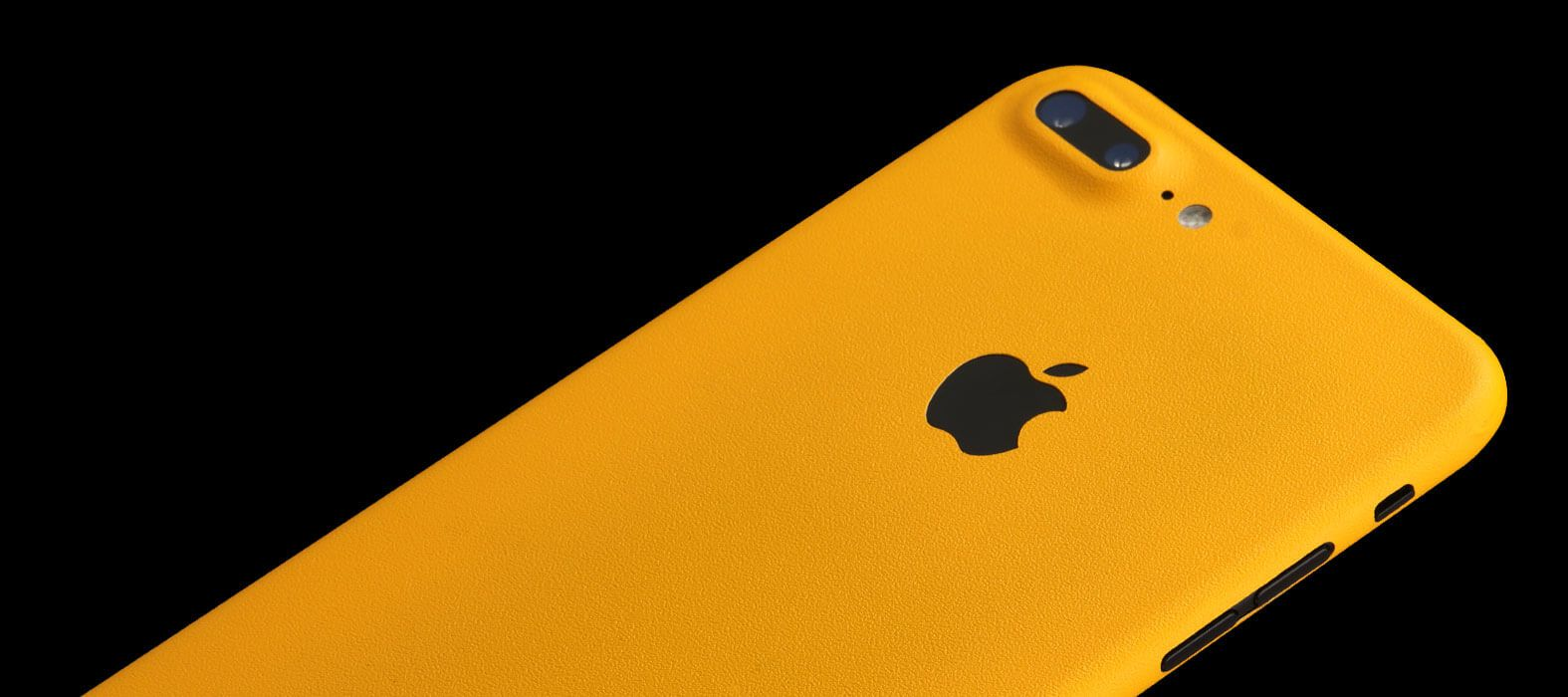 iPhone 7 Plus Sandstone Yellow Skins & Wraps