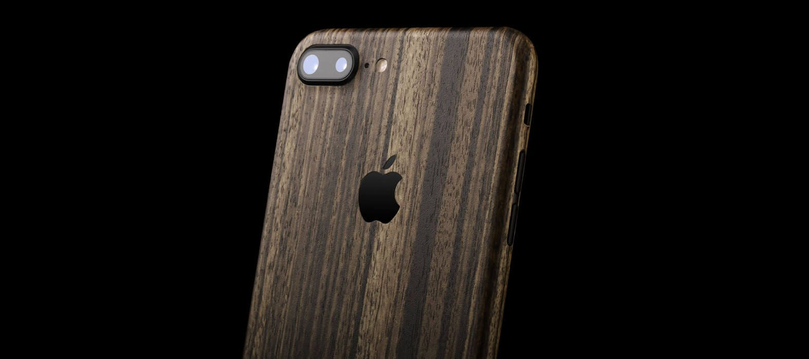 iPhone 7 Plus Zebra Wood Skins & Wraps