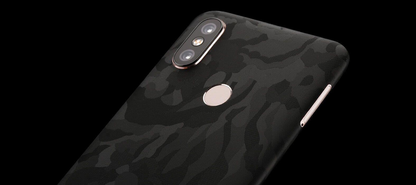 Xiaomi Mi A2 Black Camo Skin