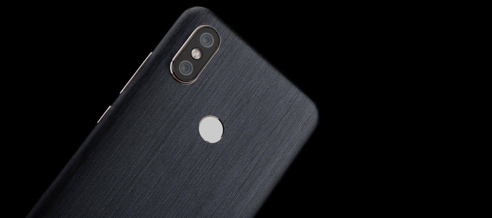Xiaomi Mi A2 Brushed Graphite Skin