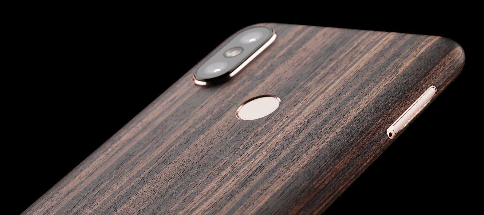Xiaomi Mi A2 Zebra Wood Skin