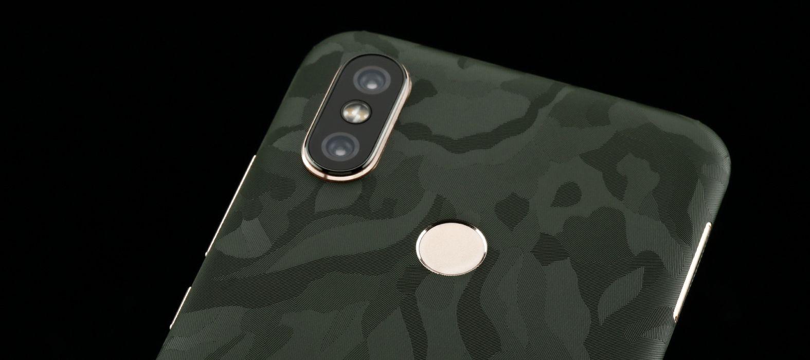 Xiaomi Mi A2 Green Camo Skins