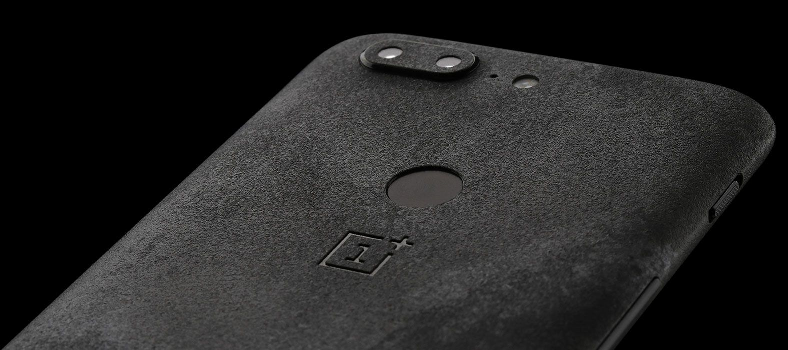 OnePlus 5T Skins, Decals, Wraps - Black Grunge