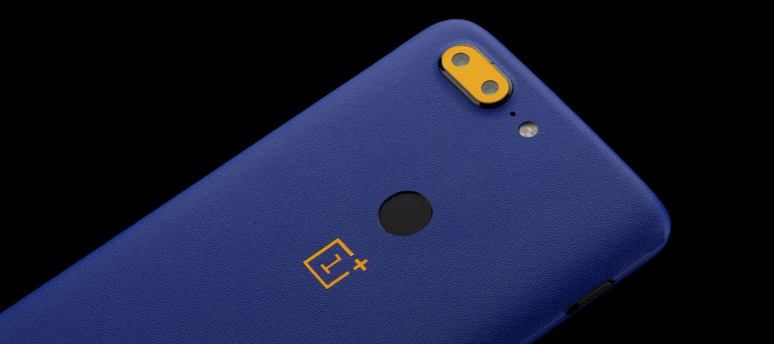 OnePlus 5T Skins, Decals, Wraps - Sandstone blue