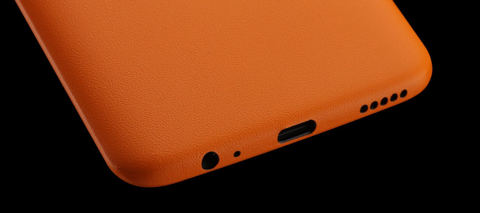 OnePlus 5T Skins, Decals, Wraps - Sandstone orange