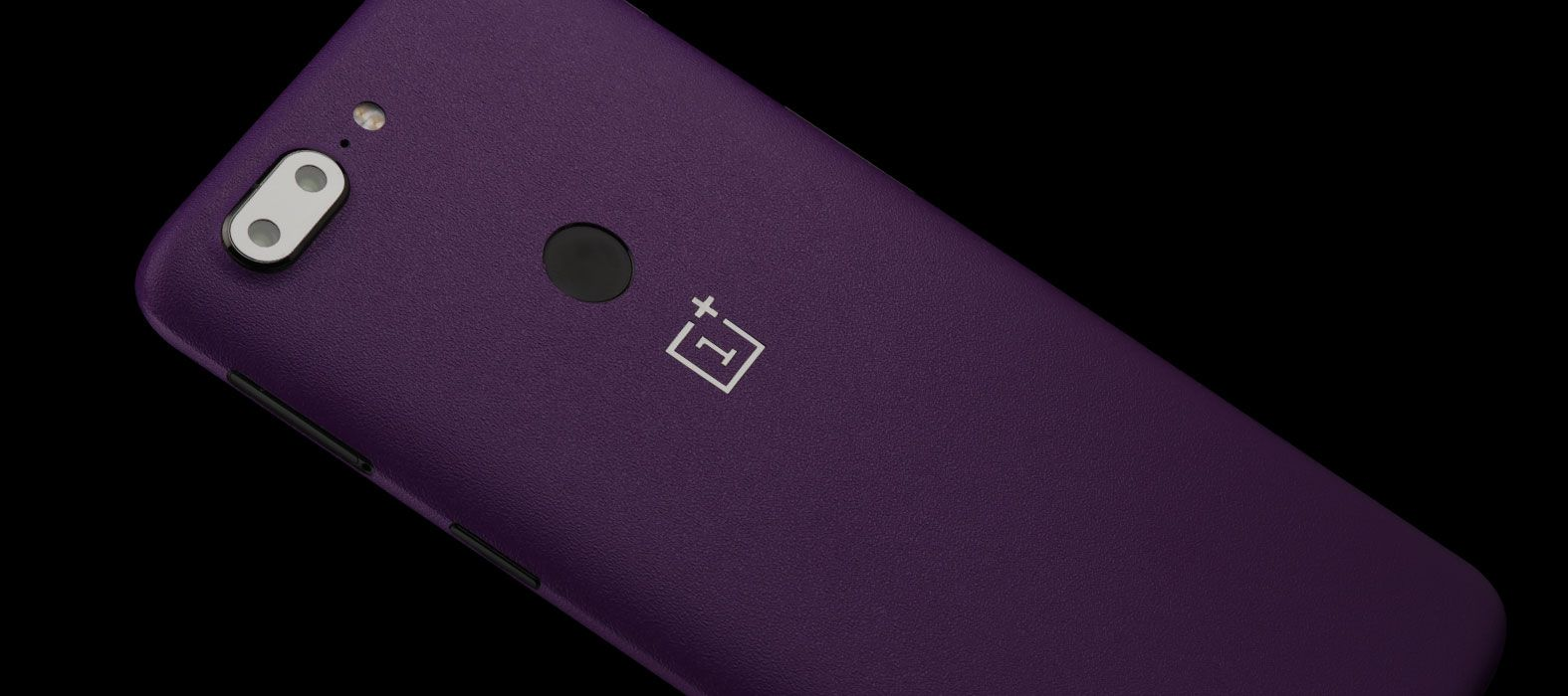OnePlus 5T Skins, Decals, Wraps - Sandstone purple
