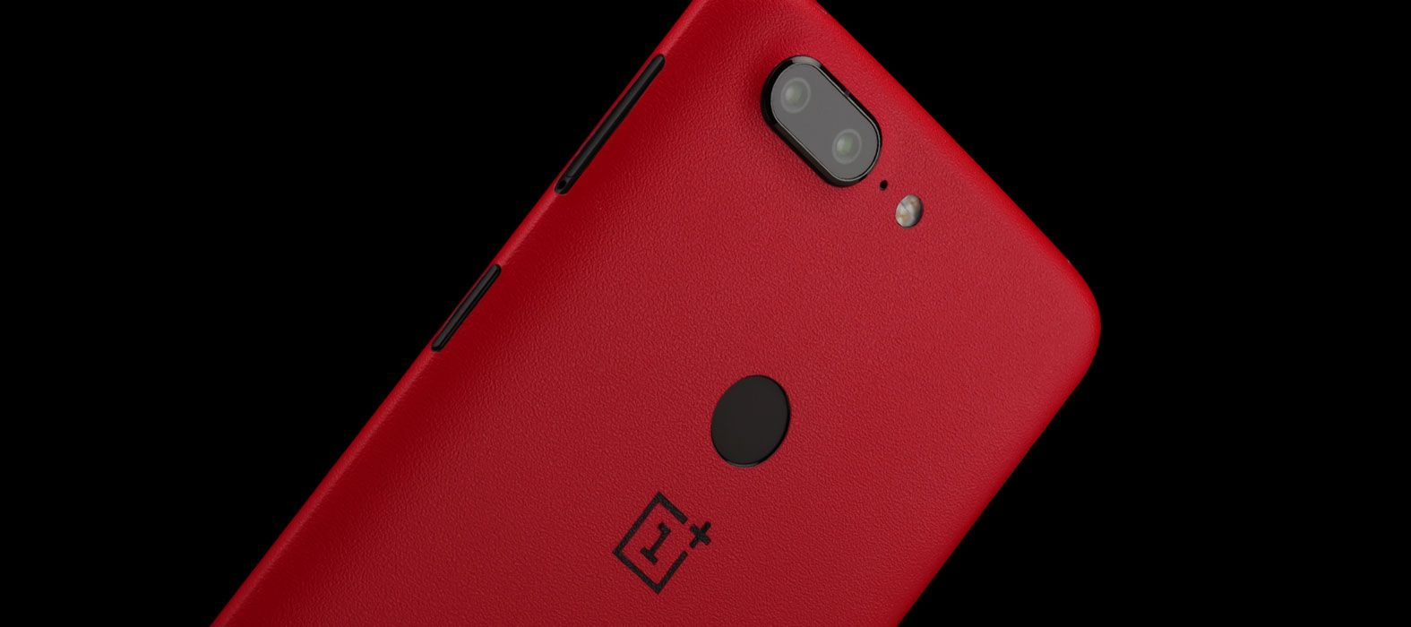 OnePlus 5T Skins, Decals, Wraps - Sandstone Red