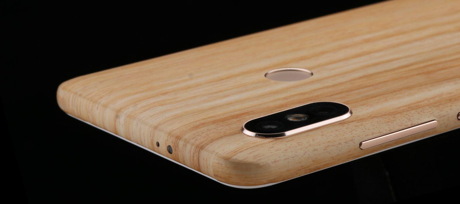 Xiaomi Redmi 6 Pro Bamboo Wood Skins