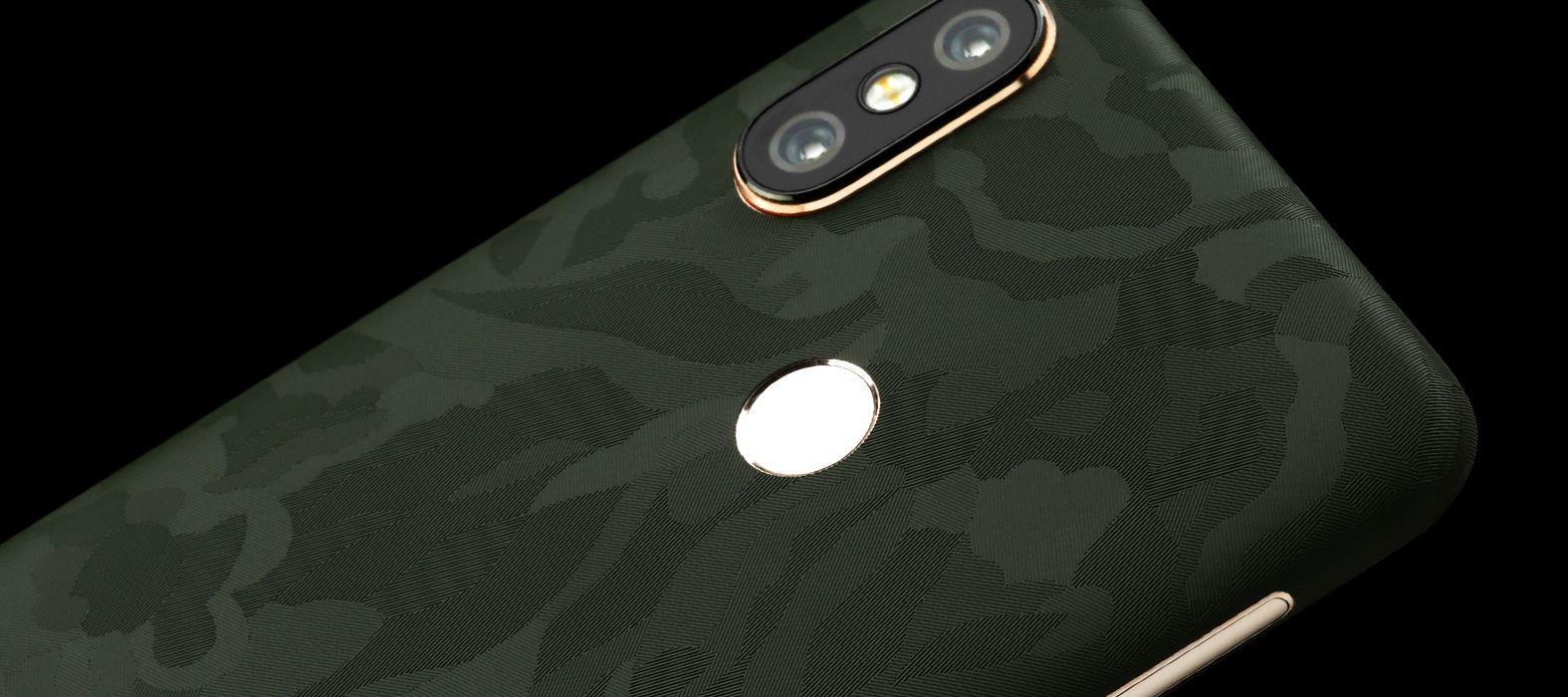 Xiaomi Redmi 6 Pro Green Camo Skins