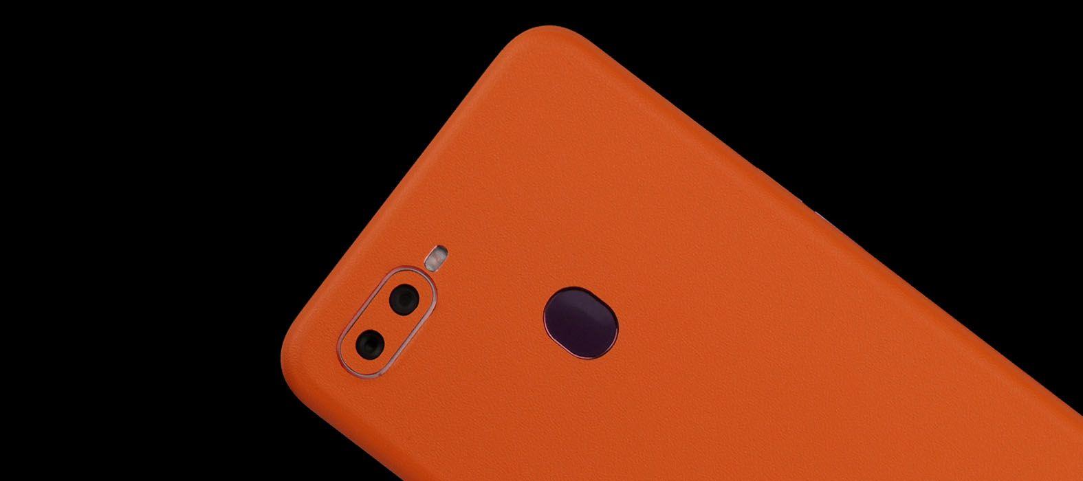 Oppo F9 Pro Sandstone Orange Skins