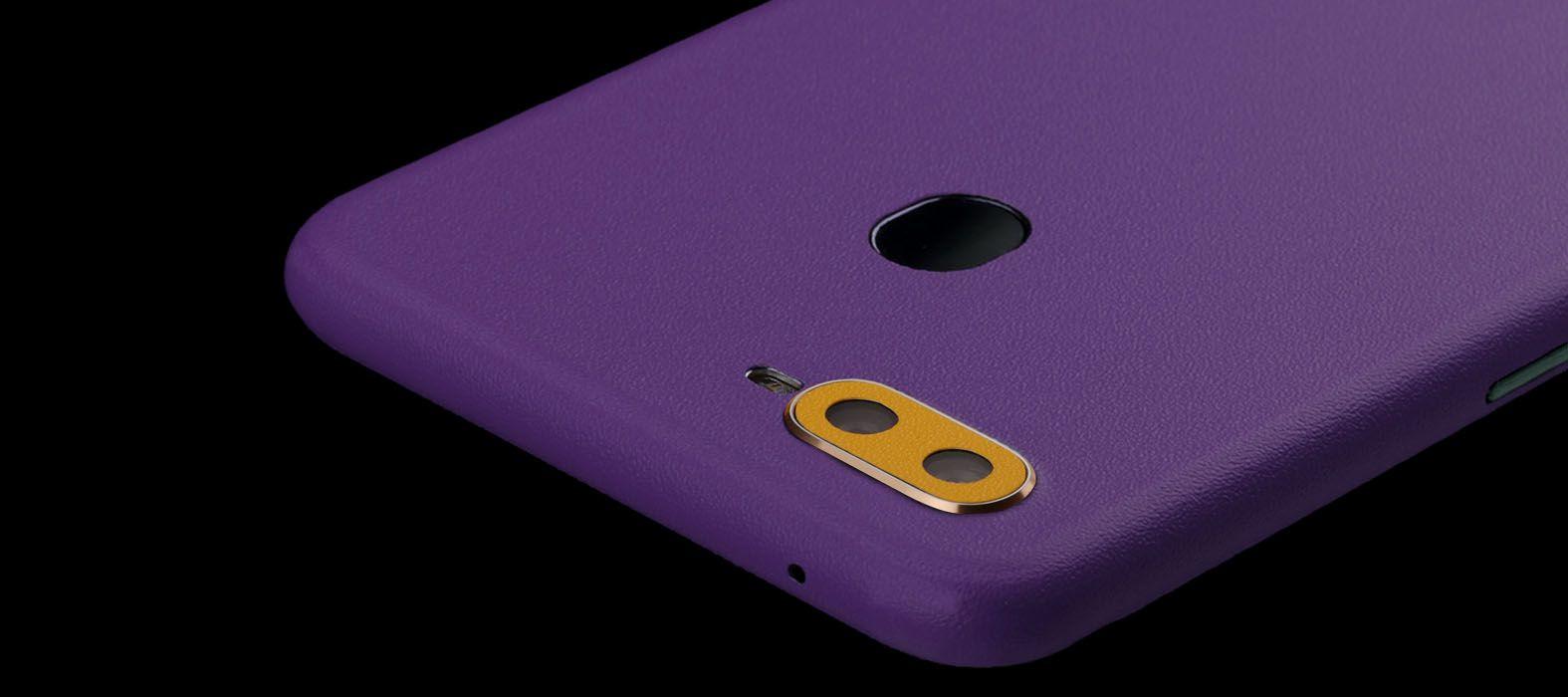 Oppo F9 Pro Sandstone Purple Skins