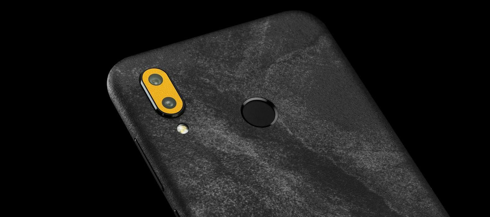 Huawei Honor Play Black Grunge Skins