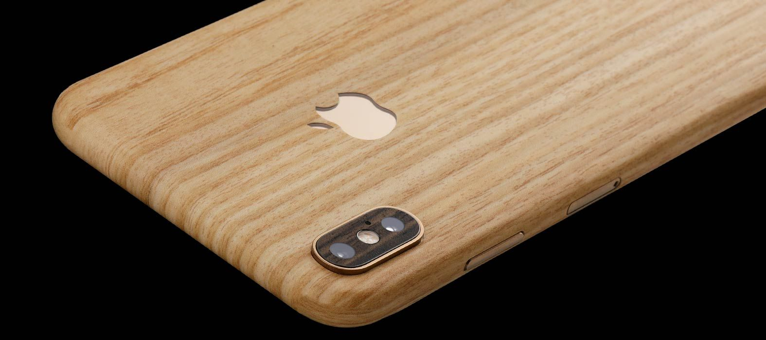 iPhone XS Max Bamboo Wood Skins