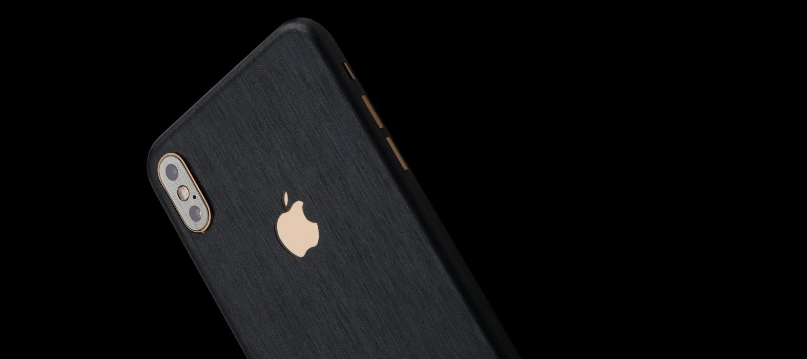iPhone XS Max Brushed Graphite Skins