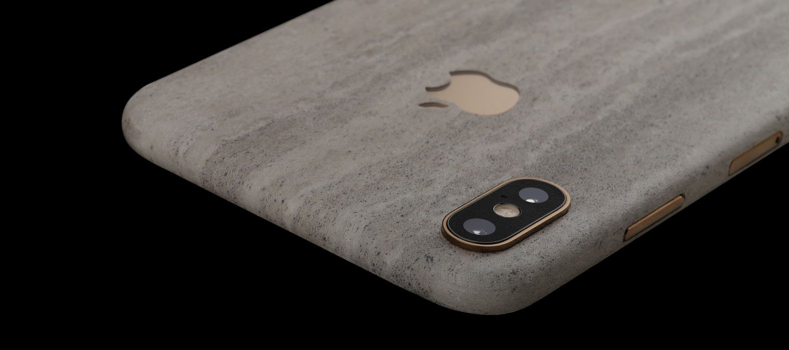 iPhone XS Max Concrete Skins