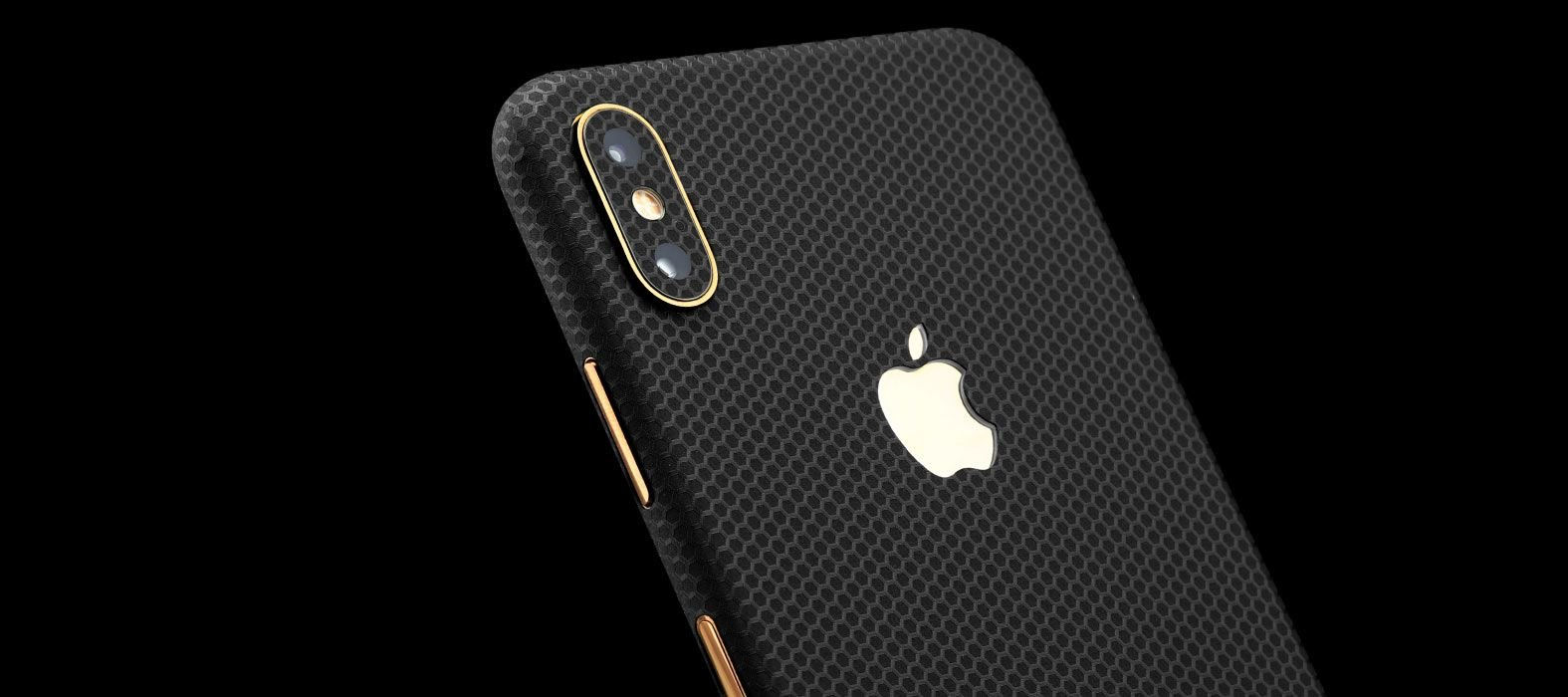 iPhone XS Max Black Matrix Skins