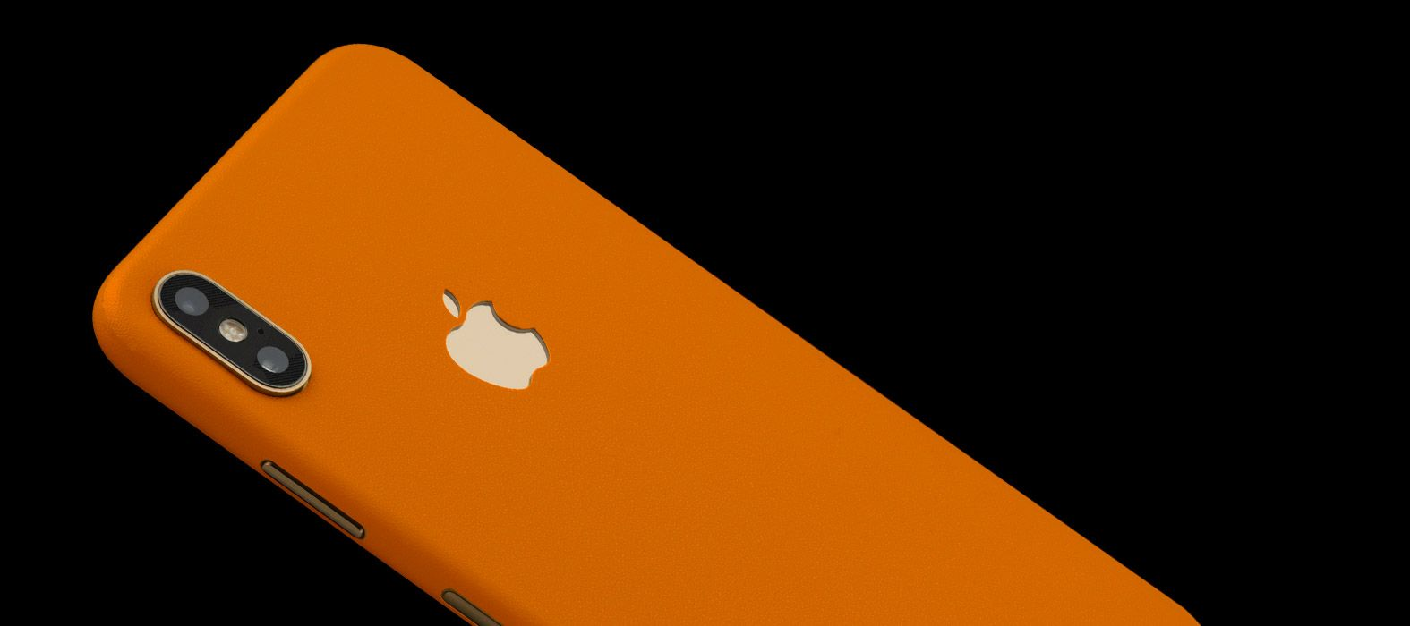 iPhone XS Max Orange Sandstone Skins