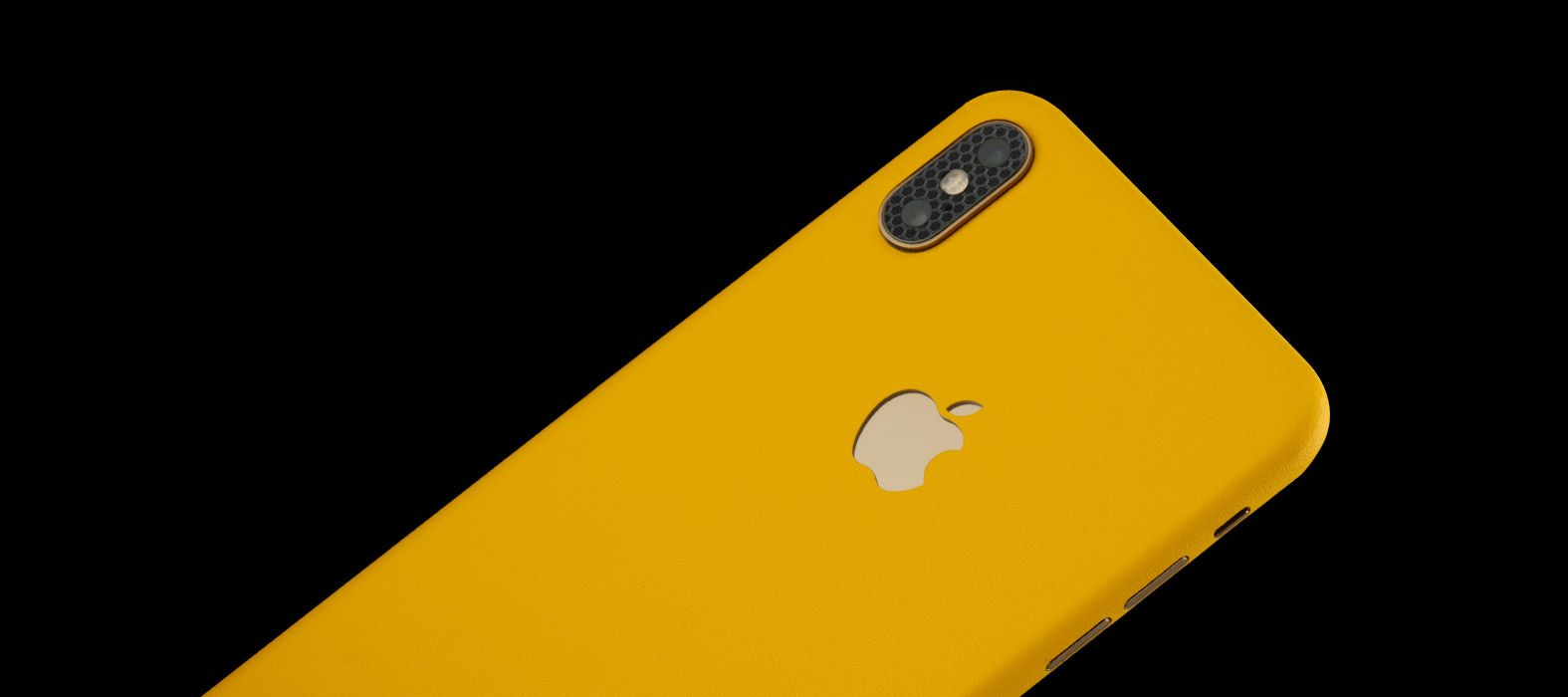 iPhone XS Max Yellow Sandstone Skins